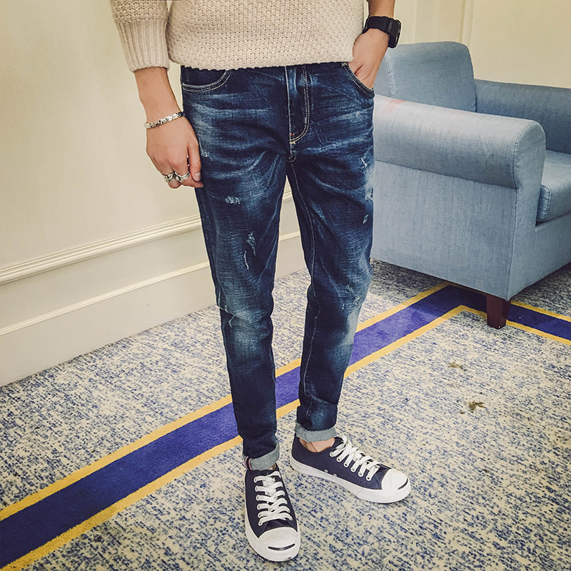Online Shop 2016 Free Shipping Men Jeans Fashion Clothing Denim ...