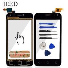 """AAA 4.0 """"Écran tactile Digitizer Panneau de Verre Pour Alcatel One Touch Pixi Première OT 4024 OT4024 OT-4024 OT4024D 4024D 4024X Adhésif"""