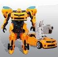 Envío libre 27 cm Kids Brinquedos Transformación 4 Juguetes Robot de Anime Figura de Acción de Clase de Coche Juguetes de Navidad Regalo de Los Niños