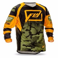 2017 Mountain Downhill Bike Long Sleeve Cycling Jersey DH MX RBX MTB Racing Clothes Off Road