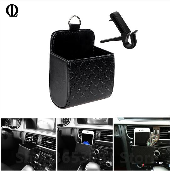 Car Storage Bag Outlet Vent Tidy Storage Box Car Organizer