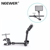 Neewer 11/28cm Adjustable Friction Arm and Large Clamp Crab Pliers Clip for DSLR Camera Rig,LCD/dvMonitor LED/ flash light
