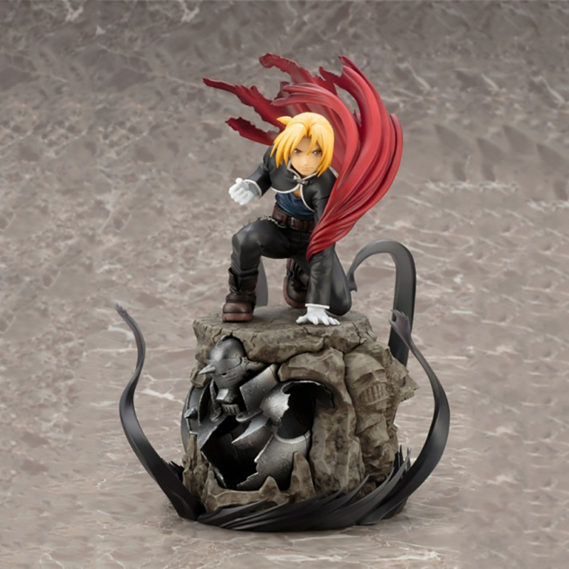 Akihabara Anime Fullmetal Alchemist Edward Elric People Model Action Figure Doll Toy For Children anime fullmetal alchemist edward elric cosplay full metal alchemist cosplay costume