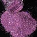Holográfica Láser Oscuro Peachblow Rosa Polvo del Polvo DIY Decoraciones Del Arte Del Clavo de la Manicura Herramientas de Uñas Brillante Glitter N55