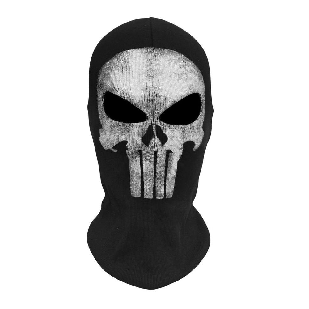 Skull Ghost Masks Halloween Punisher Deathstroke Reaper Full Face Mask H4