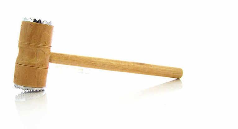 1pc wood metal hammer