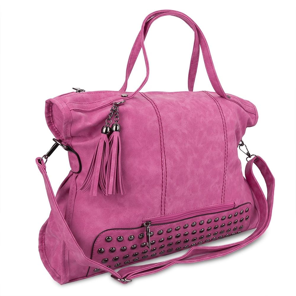 ФОТО Bolsos Mujer 2017 Fashion Hobos Women's Bags Ladies Brand PU Leather Ladies Handbags Spring Casual Tote Shoulder Bags Tassen