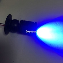 5pcs/lot 230v Adjustable pitch blue color Led Cabinet Light Energy Saving Spot Home  Downlight Mini Recessed Lamp