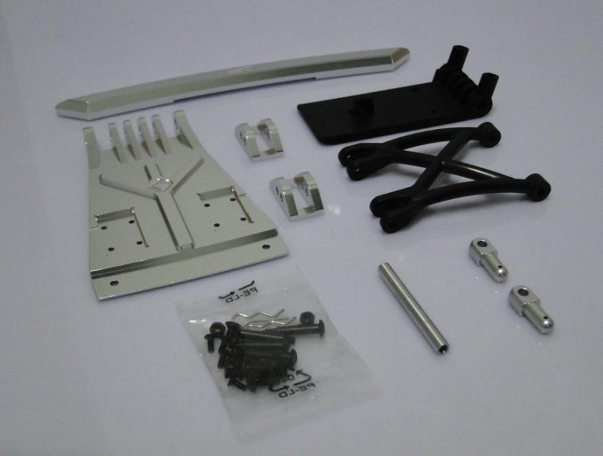 baja 5T. baja T1000 CNC metal front fender sliver color baja metal beadlock ring set 8pc 4pc inner 4pc outer sliver color
