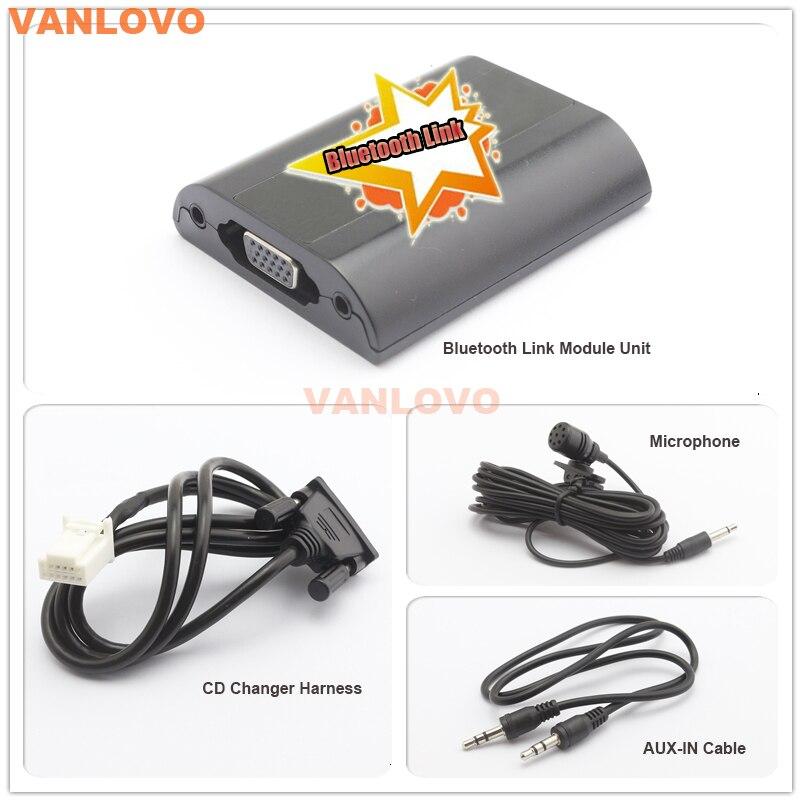 Соединение bluetooth автомобильный комплект с Aux in интерфейсом и USB зарядным устройством для Scion Xa XB xD tC w/o навигации - 4