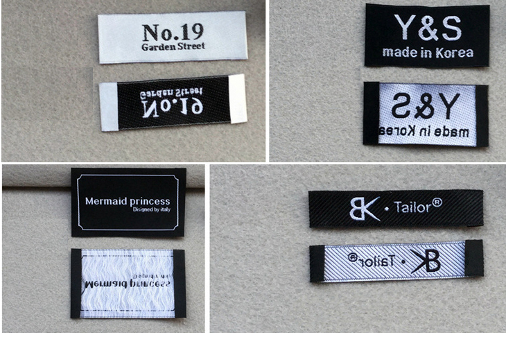 Free Shipping Custom(1000pcs/lot) garment clothing Woven Labels ...