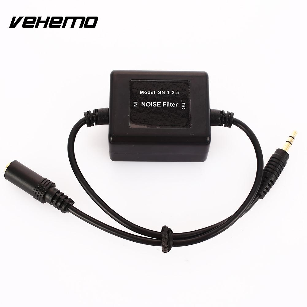 Vehemo AUX Plug 3.5mm Noise Suppressor Filter Audio Noise Filter Car Audio Installation Noise Suppressor Killer Noise CancelingVehemo AUX Plug 3.5mm Noise Suppressor Filter Audio Noise Filter Car Audio Installation Noise Suppressor Killer Noise Canceling
