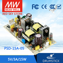 Hot! MEAN WELL original PSD-15A-05 5V 3A meanwell PSD-15 5V 15W Single Output DC-DC Converter
