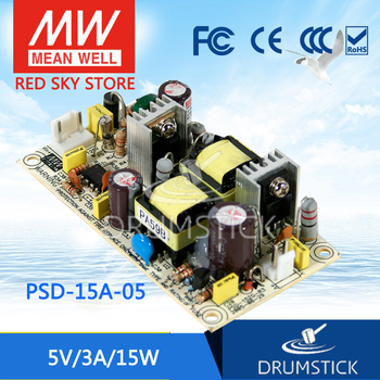 Steady MEAN WELL PSD-15A-5 5V 3A meanwell PSD-15 5V 15W Single Output DC-DC Converter [cheneng]mean well original lpp 150 5 5v 30a meanwell lpp 150 5v 150w single output with pfc function