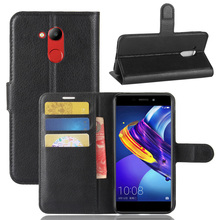 ASTUBIA For Honor 6C pro Case Flip PU Leather Phone Case For Honor v9 play Case For Huawei Honor 6C Pro Case Cover Coque 5.2'