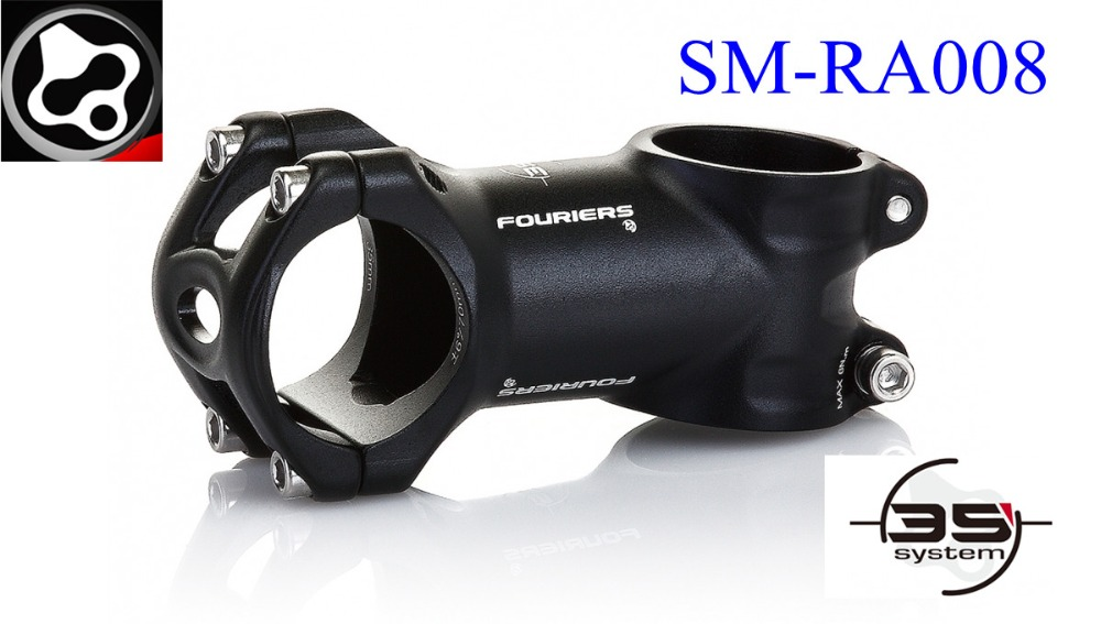 FOURIERS bike 3D forged stem AL6066-T6 aluminum alloy 35mm bar mountain road Stems Length 60-120 mm