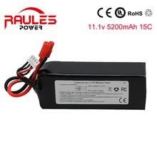Top Lipo Battery 11 1V 5200mAh 3S 15C true for Walkera QR X350 PRO RC Drone