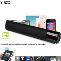 Portable Bluetooth hifi Speaker system wireless soundbar 10W PC TV sound box bar Woofer subwoofer music MP3 player Radio Boombox