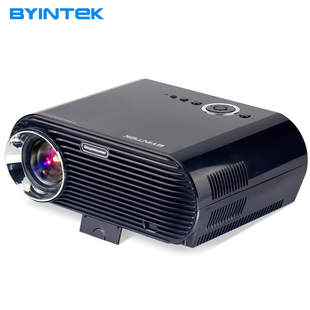 BYINTEK BL127 2017 New Design 720P 1080P Movie Cinema USB HDMI fulL hD VGA Home Theater