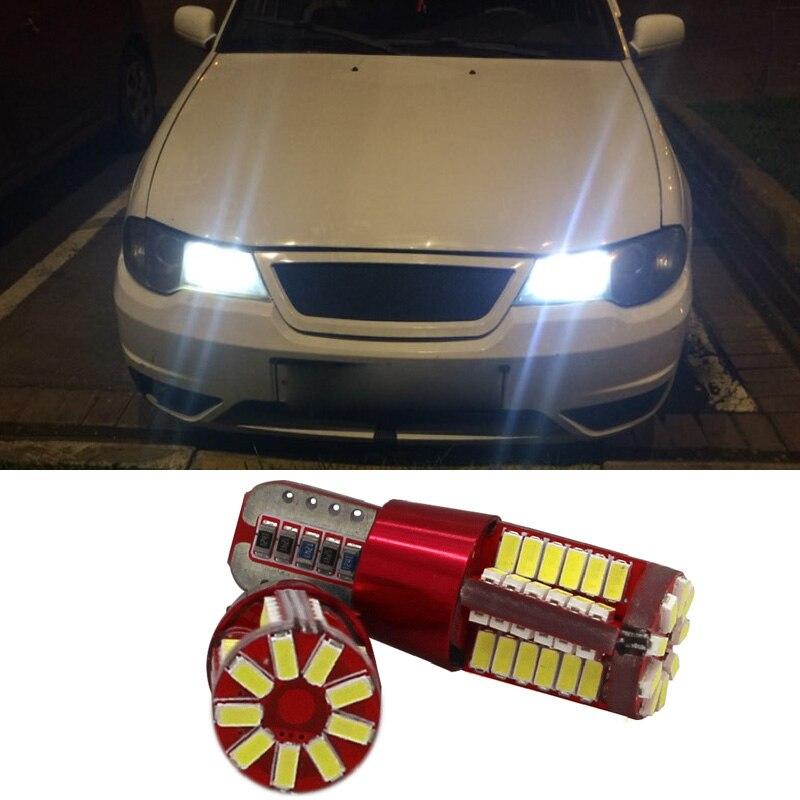 2x Canbus T10 W5W LED Car Clearance Lights for Daewoo Nexia Matiz Lanos Lacetti Nubira Kalos Tico Leganza Gentra Espero Cielo deawoo lanos корейская сборка