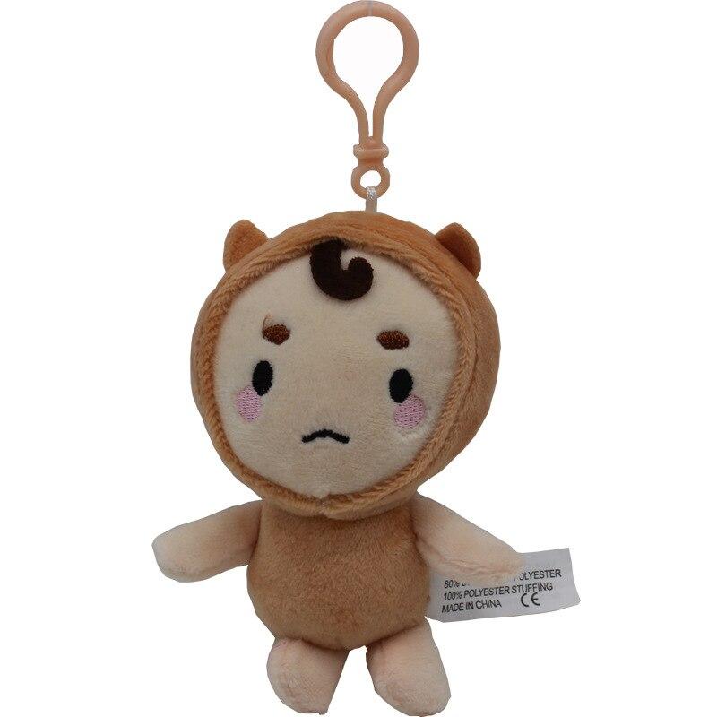 10cm Korea Goblin Plush Toys Doll Guardian The Lonely and Great God Goblin Plush Pendant Soft Stuffed Toys for Kids Children