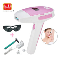 KIKI Laser Pro Electric Hair Removal Machine Laser Epilator women Electric Depilator Permanent Bikini Trimmer 500,000 Flashes