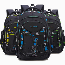 f02cc57e75d2 Непромокаемые детские школьные сумки для мальчиков и девочек,  ортопедический рюкзак, школьные сумки, рюкзак