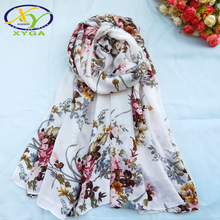 Cotton Scarves Women 2019 New Long Viscose Ladies Scarves Soft Fashion Summer Shawls Female Autumn Wraps Muslim Head Scarf