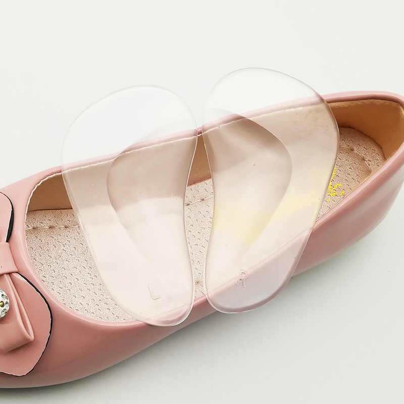 Hot 1 คู่ Professional Orthotic สนับสนุนเท้าแบน Flatfoot Corrector ใส่รองเท้า Cushion