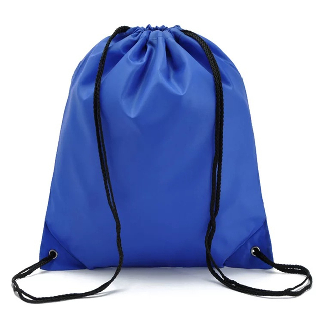 Solid Drawstring Sackpack