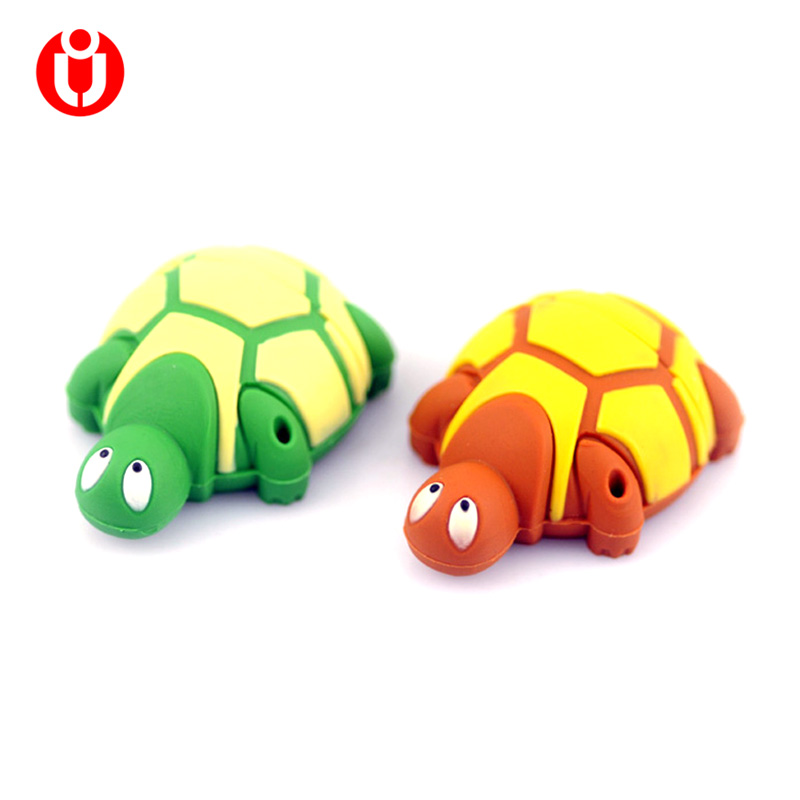 Cartoon Turtle USB 2.0 Flash Drive 4GB 8GB 16GB 32GB Memory Stick Pendrive