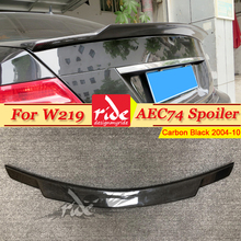 W219 Carbon Fiber Rear Trunk Spoiler C74 Style Fits For Mercedes Benz CLS Class CLS350 CLS400 550 Sedan Wing 04-10