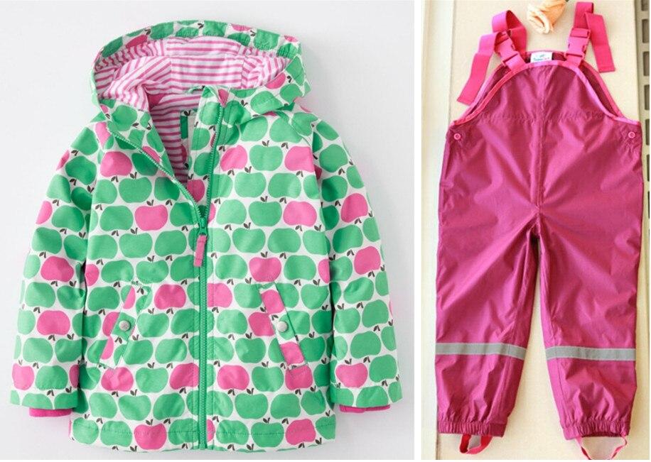 Printemps et été enfants résistant aux intempéries de haute qualité imperméable costume ski costume veste designer vêtements pour enfants