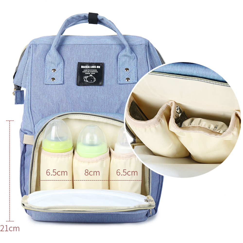 MOONBIFFY Fashion Mummy Maternity Nappy Bag Large Capacity Baby Bag Travel Backpack Desinger Nursing Bag for Baby Care idore baby diapers l 60pcs disposable nappies ultra thin large absorb capacity breathable 6dtex non woven fabric infant nappy
