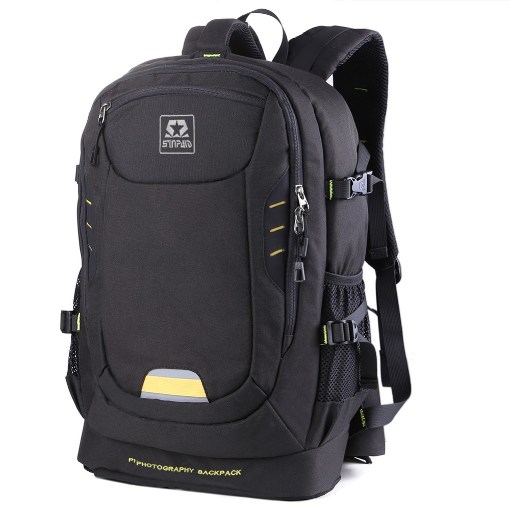 Waterproof Photo Digital DSLR Camera Backpack Photography Camera Video Bag Oxford Camera 8 Partition Bag For Nikon Sony Canon new pattern manfrotto mb pl mb 120 camera bag backpack video photo bags for camera backpack