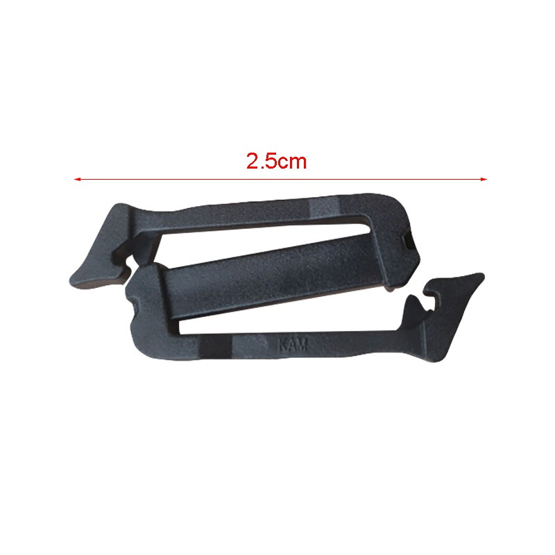 Webbing Clip Adjust Keeper Detachable Buckle Connect Quick Slip Keeper for Molle Webbing Buckle Strap Belt Tactical Backpack Bel in Outdoor Tools from Sports Entertainment