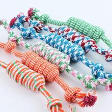 Hot sale Pet Toys for dog funny Chew Knot Cotton Bone Rope Puppy Dog toy Pets dogs pet supplies for small dogs for puppys *30