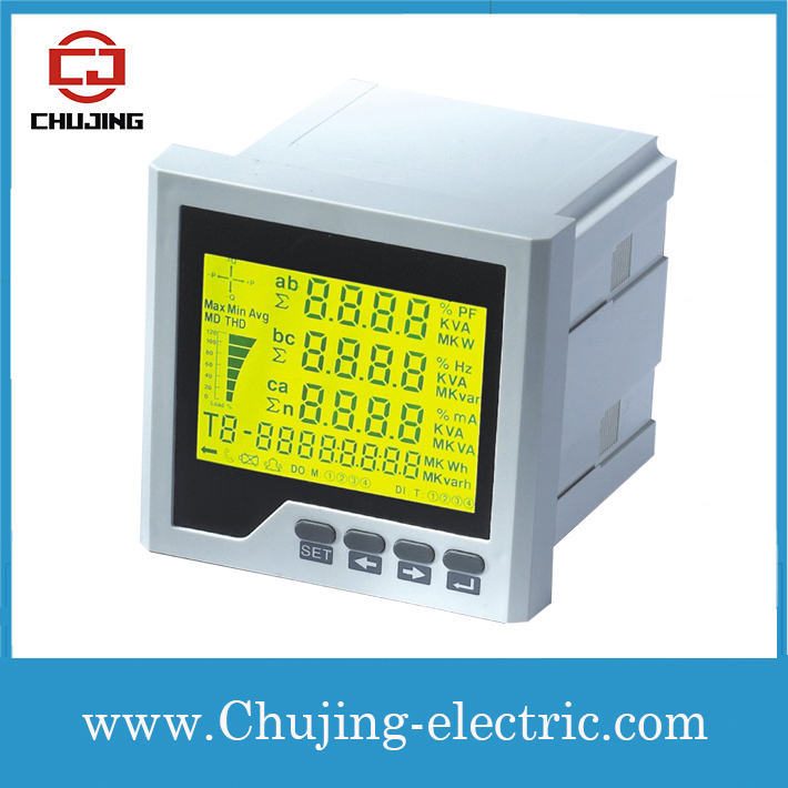 Analog Power Meter : Cj d y lcd digital power quality meter intelligent analog