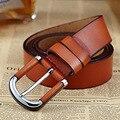 2016 Nuevos Cinturones de Marca de Lujo Para Hombre Cinturones de Cuero Hebilla Cowskin Jeans Cinturones Correas del Diseñador de La Vendimia Original W3