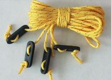 Bold plastic adjustment buckle windproof canopy rope, tents, outdoor spare parts tent accessory