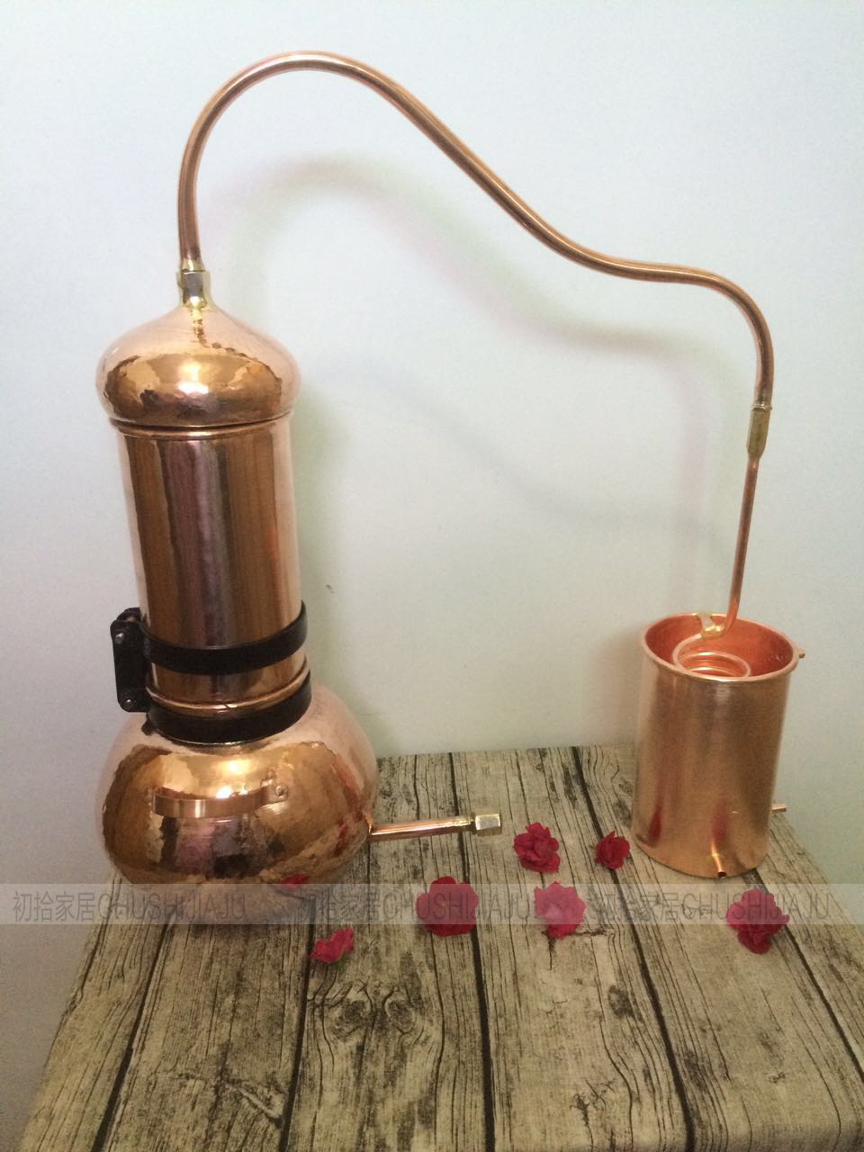 3l 5l 10l handmade copper bottom stainless steel base small distillation equipment flowers. Black Bedroom Furniture Sets. Home Design Ideas