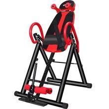L52 машина для растягивания спины сверхмощный стол для инверсии с поролоновой спинкой и поясничной подушечкой фитнес-терапия для облегчения боли в спине