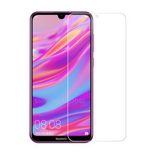 2.5D Arc Screen Protector For Huawei Enjoy 9 Tempered Glass 9H Explosion-proof Protective Film Y7 Pro 2019 Case Cover