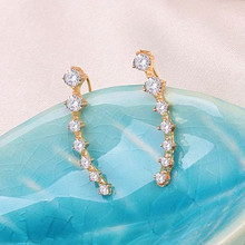 One PAIRS Ear Cuff Wrap Crystal Earrings Newest High Quality Summer Style Ear Cuff Piercing Jewelry For Women