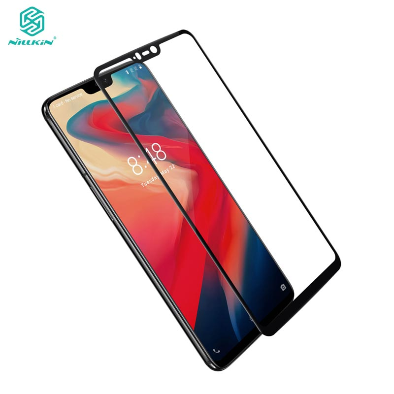 OnePlus 6 Tempered Glass OnePlus 6 Glass Nillkin CP+ 2.5D Full Cover Screen Protector For One Plus 6 OnePlus6
