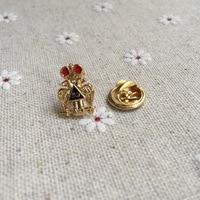 Двуглавый орел шотландской 33rd красного цвета с рисунком Совы с эмблемой масонство масонский значок значки работа по металлу рукоделие пода...