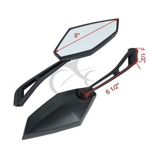 Image 2 - New Side Rear View Mirrors For Ducati Monster 600 620 696 695 1100 1000 750 800