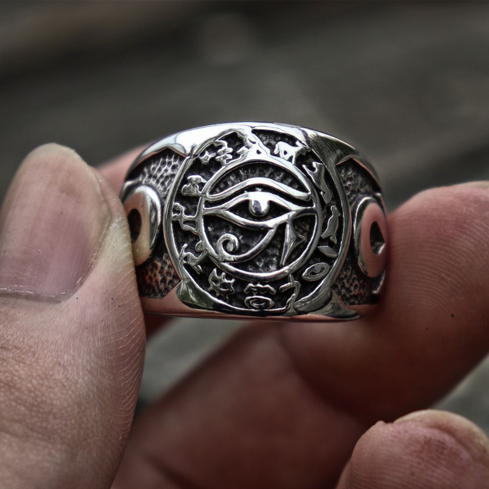 Eye of Horus Ring