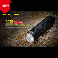 New Arrival NITECORE SRT9 2150 Lumens CREE XHP50 LED Multi output Die cast Tactical Flashlight for Hunting/ Law Enforcement