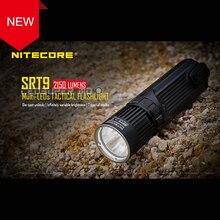 Новое поступление NITECORE SRT9 2150 Люмен CREE XHP50 светодио дный Multi-выход литой тактический фонарь для охоты/правоохранительных органов